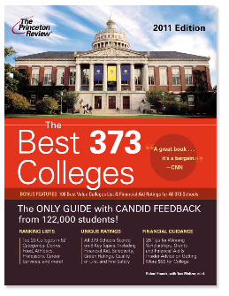 Princeton Review's List of 'Best Colleges'