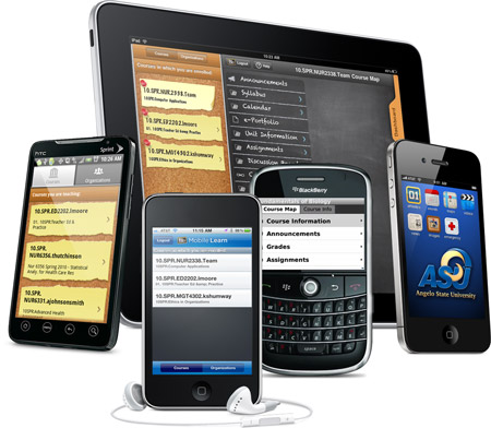 Various Mobile devices