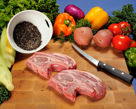 how to clean lamb shoulder chops