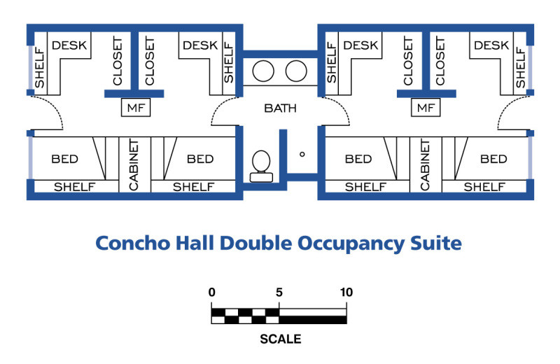 Concho Hall Floor Plans Part 25