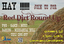 Red Dirt Round Up - Poster