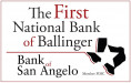 The First National Bank of Ballinger