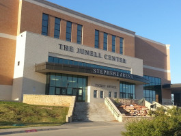The Junell Center/Stephens Arena Building at Angelo State