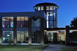 The Houston Harte University Center Building at Angelo State
