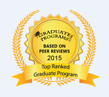 Award for Top Ranked Graduate Program