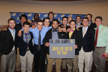 2014 Rammys Greek Life Organization of the Year