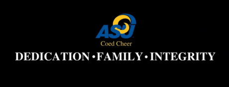 ASU Coed Cheer graphic