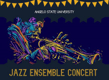 Angelo State University Jazz Ensemble Concert Graphic