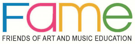 Friends of Art and Music Entertainment (FAME) Logo