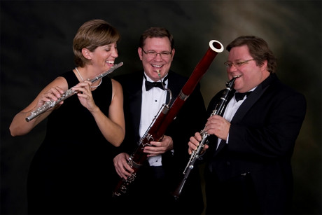 The Mesquite Trio: (L to R) Constance Kelley, Jeff Womack and Tim Bonenfant