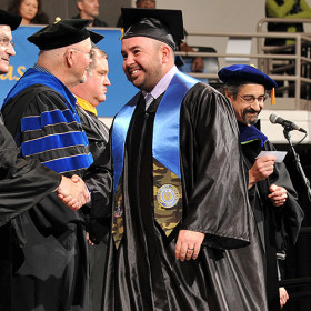 Veteran crossing commencement stage