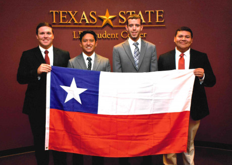 (L to R) Josh Hale, Jayson Zamora, Cody McCallum and Luis Torres represented Chile at the ESMOAS ...