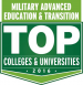 Military Advanced Education Badge