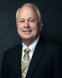 Dr. Brian J. May, President of Angelo State University