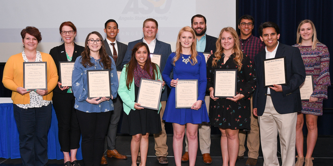 2018 Outstanding Graduate Students