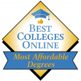 Best Colleges Online Ranking Badge