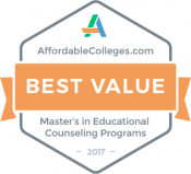 Educational Counseling Best Value Badge