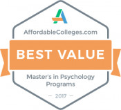 AffordableColleges 2017 Psychology Ranking Badge