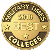 Military Times Best Colleges 2018 Badge