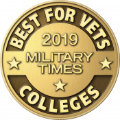 "Military Times ""Best for Vets Colleges 2019"" Badge"