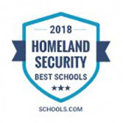 Schools.com Homeland Security Best Schools Badge