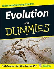 """Evolution for Dummies"" Book Cover Graphic"