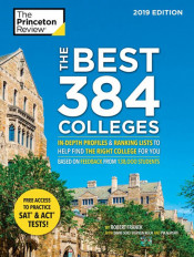 "Princeton Review ""The Best 384 Colleges"" Book Cover Graphic"
