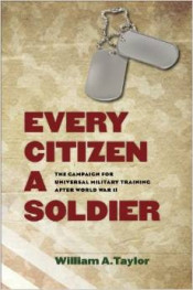 """Every Citizen a Soldier"" Book Cover Graphic"
