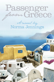 "Book Cover: ""Passenger from Greece"" by Norma Jennings"