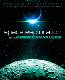 Space Exploration and American Values poster.