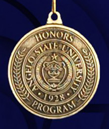 Honors Program Medallion