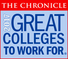 Great Colleges to Work For Graphic