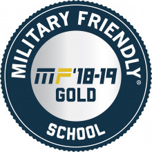 Military Friendly 18-19 Gold Badge