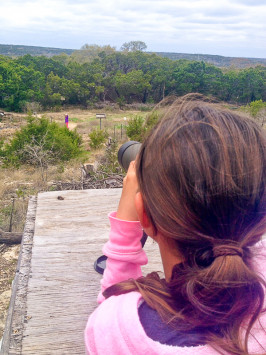 Programs such as birding and wildlife research launched at Laurel Mountain Elementary led to Hance earning a statewide award from the Texas Commission on Environmental Quality.