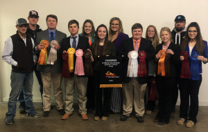 Angelo State Wool Judging Team for 2019