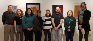 Angelo State Art Student Juried Scholarship Exhibit winners