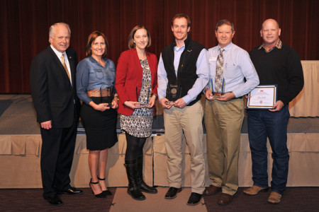 (L to R) Dr. Brian J. May, Annette Dixon, Jayna Phinney, Brian Jackson, Don Cheek, Clay Smith