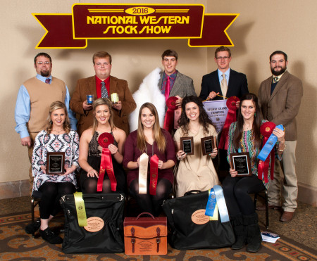<p>2015-16 ASU Wool Judging Team</p>