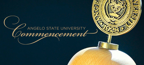 Angelo State University Commencement Graphic