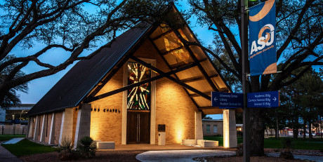 Angelo State's New Stephens Chapel