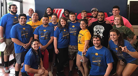 <strong>Ram Powerlifting Club at USA Powerlifting 2017 Collegiate Nationals</strong>
