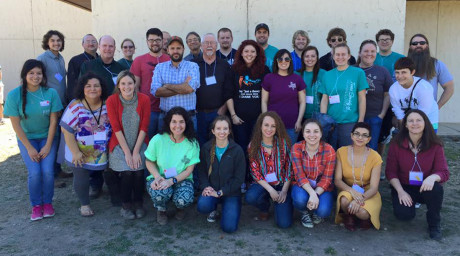 ASU biology students, faculty, staff and alumni at the 2016 TSM annual meeting in Junction.