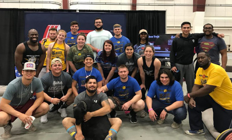 Ram Powerlifting Club at 2018 Aggie Showdown