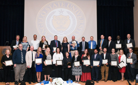 2018 Faculty Excellence Awards Winners and Nominees