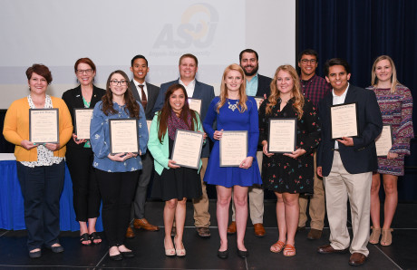 ASU's 2018 Outstanding Graduate Students