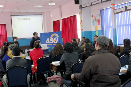 Cuenco conducted several interactive workshops while in Nepal.