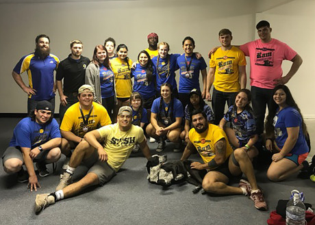 Ram Powerlifting Club at the 2017 Collegiate Cup
