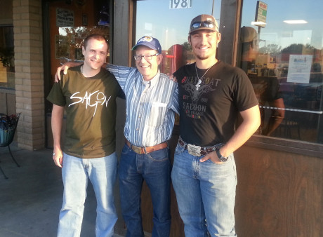 <strong>(L to R) Sean Czarnecki, Dr. Joe Satterfield, Jacob Jarvis</strong>