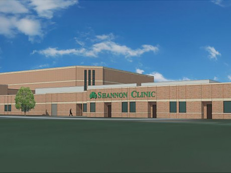 <strong>Artist rendering of new on-campus clinic.</strong>