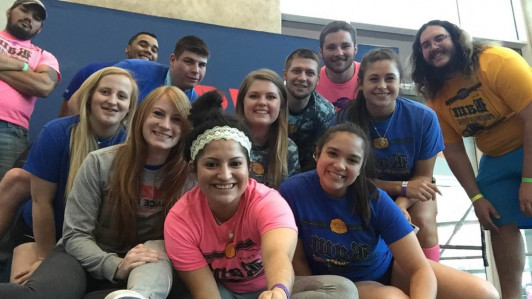 "<p><font face=""Calibri"">Members of the Ram Powerlifting Club are (Back, L-R) Angel Enriquez, James Meador, Bronson Burks, Anita Zelt, Josh Williams, Donald Baker, Brittany Barksdale, Carlos Ochoa and (Front) Rhiannon Howard, Caitlyn Buck, Alyssa Gaitan and Kali Mendez.</font></p>"